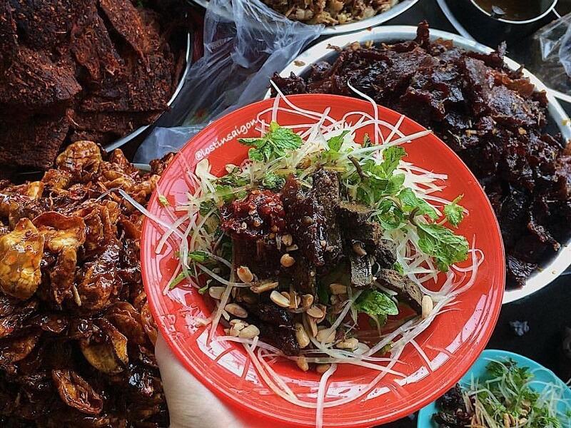Gỏi bò khô Nha Trang