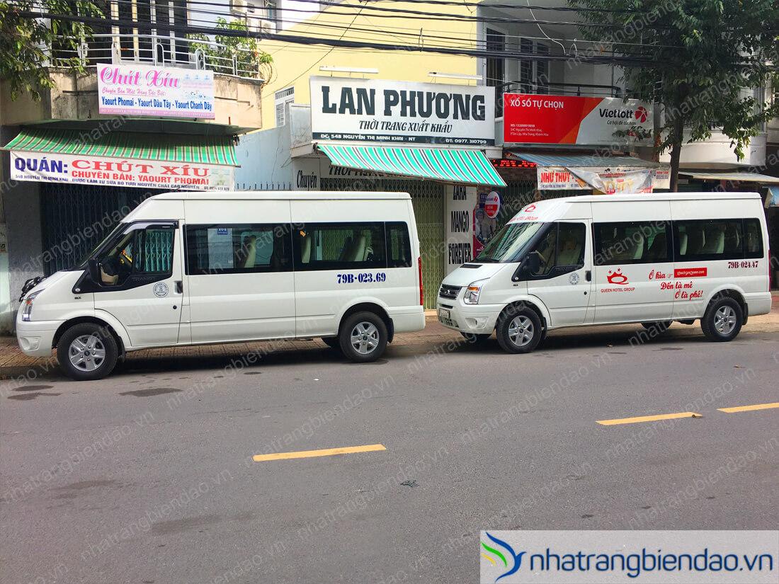 Cho thuê oto Nha Trang