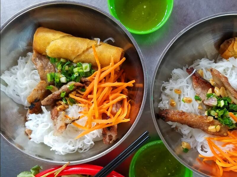 Bún thịt nướng Nha Trang