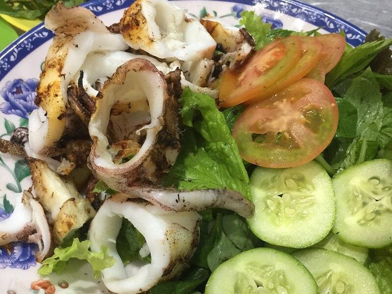 Mực nướng Nha Trang