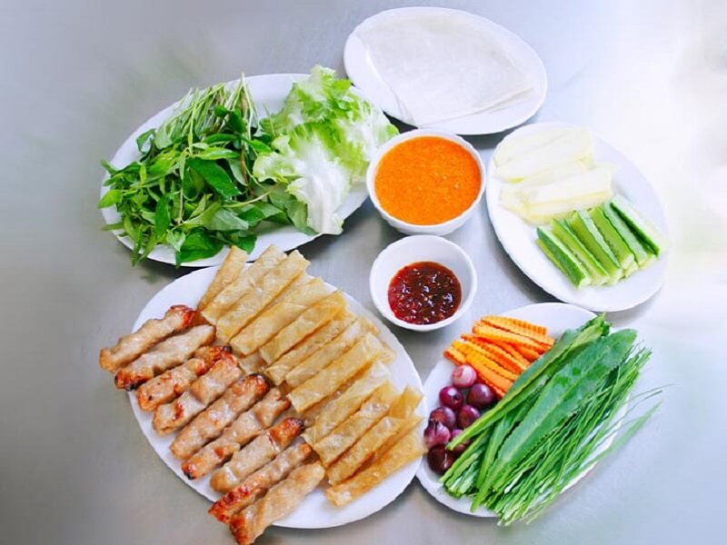 Nem nướng Ninh Hòa Nha Trang